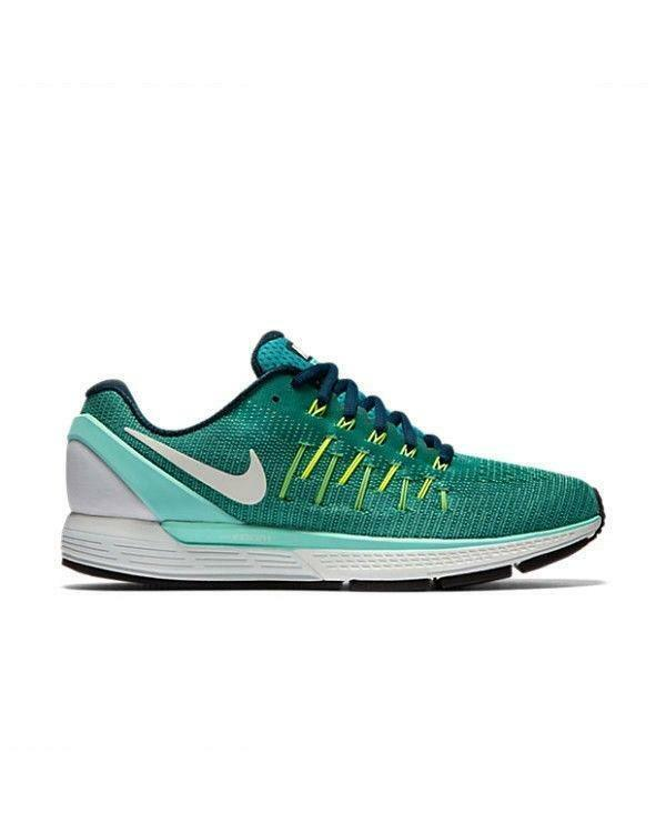Femme Nike Air Zoom Odyssey Turquoise Textile fonctionnement Baskets 844546 301-