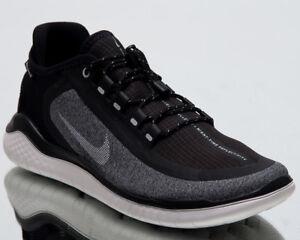 3bb0f926ba12 Nike Wmns Free RN 2018 Shield Women New Black White Running Shoes ...