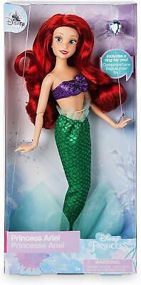 Disney Store Princesse Ariel Sirène W//Annneau 2018 Classique Poupée Barbie