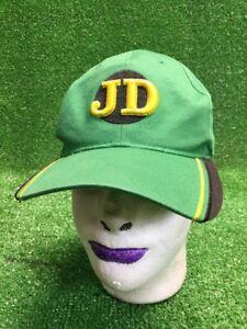 Green-John-Deere-Hat-Cap-Jd-Black-Yellow-Adjustable-StRapback-Fast-FrEe-Shipping