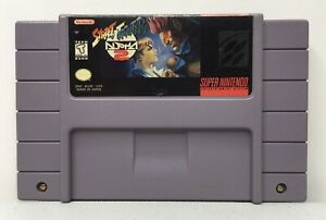 SNES-Street-Fighter-Alpha-2-Video-Game-Cartridge-Authentic-Cleaned-Tested