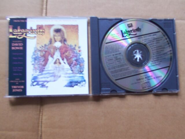 DAVID BOWIE,LABYRINTH cd m(-)/m(-) emi america records CDP7463122 England 1986