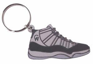 30ccf12b87cdae Good Wood NYC Concord 11 Black Sneaker Keychain Blk XI Shoe Key Ring ...