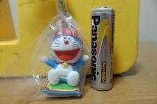 Bandai Doraemon Characters Mini Figure Keychain Key Chain Holder - Doraemon Hat