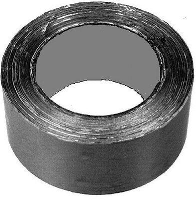 100 m Klebeband 75mm breit aluminium-farbig matt Brandverhalten gemäss DIN 4102