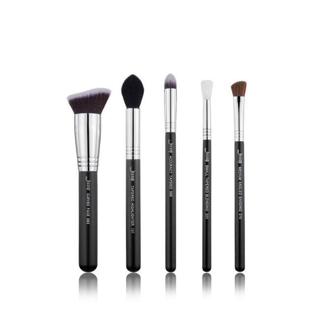 Jessup Pro Best Makeup Brushes Set Eyeshadow Blending Face Concealer 5pcs