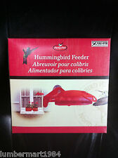 Yule-Hyde HBW1 WINDOW HUMMINGBIRD FEEDER WITH SUCTION CUPS MANGEOIRE COLIBRI