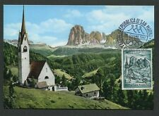 SAN MARINO MK 1962 ALPEN ALPS LANGKOFEL MAXIMUMKARTE MAXIMUM CARD MC CM d8967