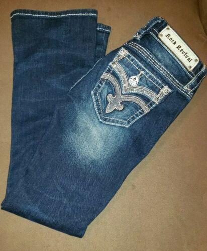 Jeans Wrew Revival Rock Taglia Boot Scuro 25x29 Drew grgExRaq