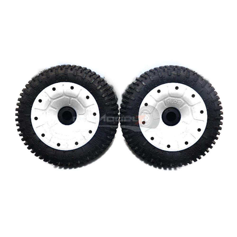 30 Degree North 'Signature' Mini-Pin wheel Set for KMX2, Losi 5ive-T (185x75mm)