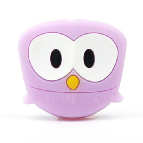Owl Silicone Baby Teether Beads DIY Teething Necklace Chewable Pacifier Chain