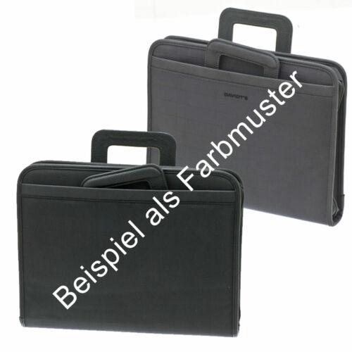 Akten Arbeits Umhänge Tasche 37 x29x6cm Groß Grau Anthrazit Davidts Bowatex