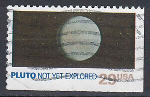 USA-Briefmarke-gestempelt-29c-Pluto-not-yet-explored-aus-Markenheft-208