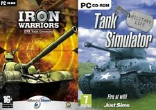 tank  simulator & Iron Wariors  T72 Tank Command  NEW&SEALED