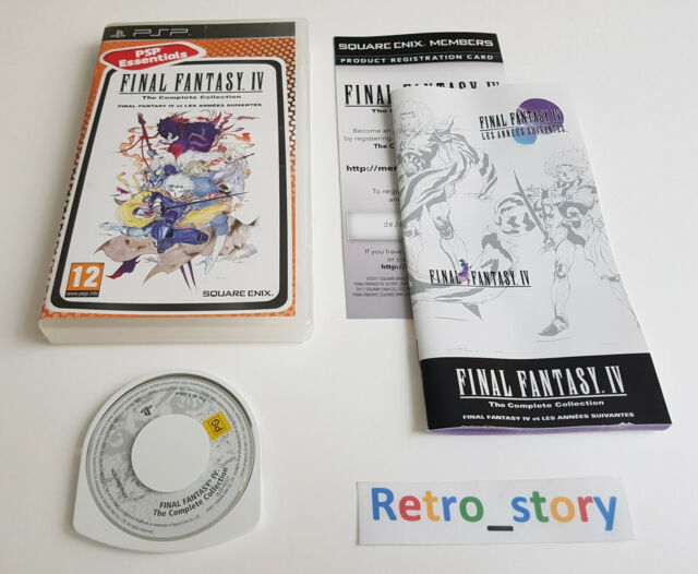 Sony PSP - Final Fanatsy IV 4 The Complete Collection - PAL