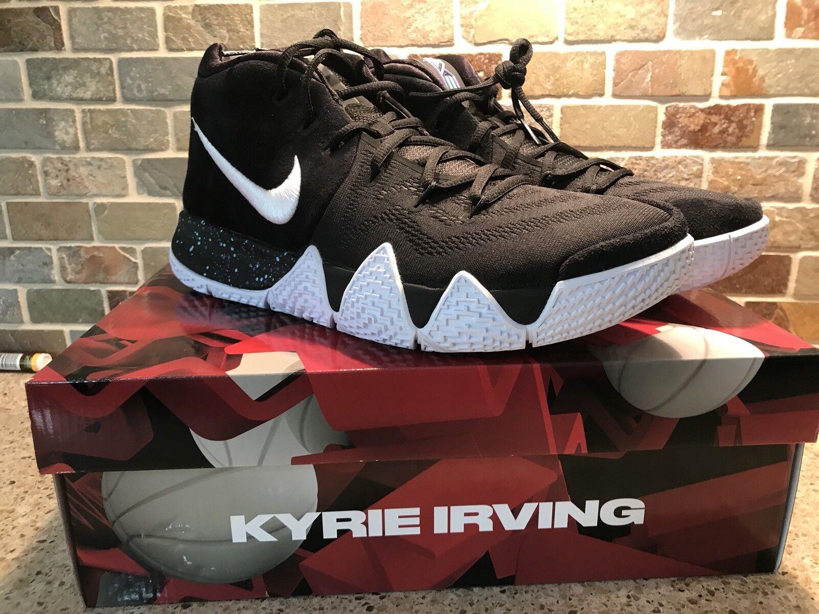 Nike Kyrie 4 00hombres tobillo Taker negro blanco 943806 00hombres 4 es comodo 8de184