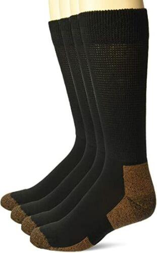 Carolina Ultimate Mens Copper Non-Binding Crew Diabetic Health Socks Anti-Odor