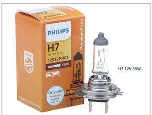 1x philips h7 x treme vision bright 12v 30 halogen. Black Bedroom Furniture Sets. Home Design Ideas