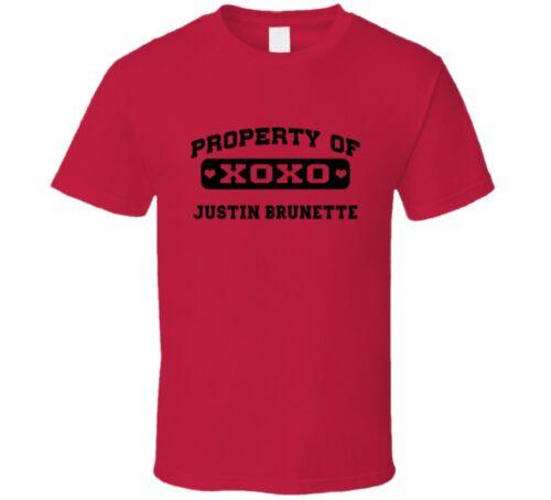 Louis Baseball T Shirt Property Of Justin Brunette 2000 St