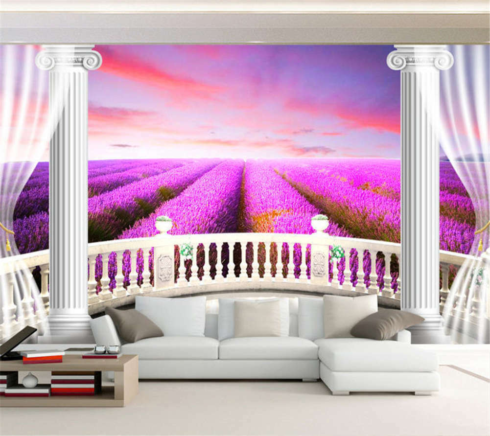 Broad Orderly Field 3D Full Wall Mural Photo Wallpaper Printing Home Kids Decor