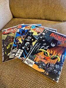 Batman Year 3 436 437 438 439 All VF 1st Tim Drake Key Comics