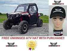 Super ATV Soft Cab Enclosure for Polaris RZR/Includes Windshield With Free Hat!