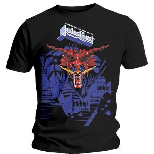 Black Blue T-Shirt Judas Priest /'Defenders Of The Faith /' NEW /& OFFICIAL!