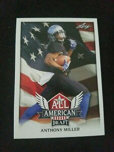 C2-Anthony-Miller-2018-Leaf-Draft-Football-All-American-Insert-Rookies-RC
