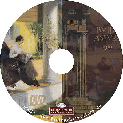 1921 Building With Assurance {Roaring 20's Home Decor Interior Design} on DVD