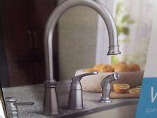 Moen Whitmore Spot Resist Stainless 1 Handle High Arc Kitchen Faucet  #CA87044SRS