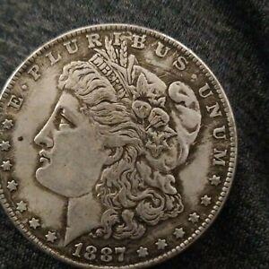 1887-O Morgan Silver Dollar Circulated