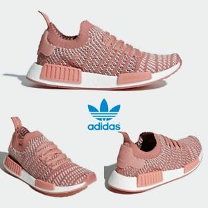 Adidas Original NMD_R1 STLT PK Women's Running Shoes CQ2028 AUHENTIC!!!