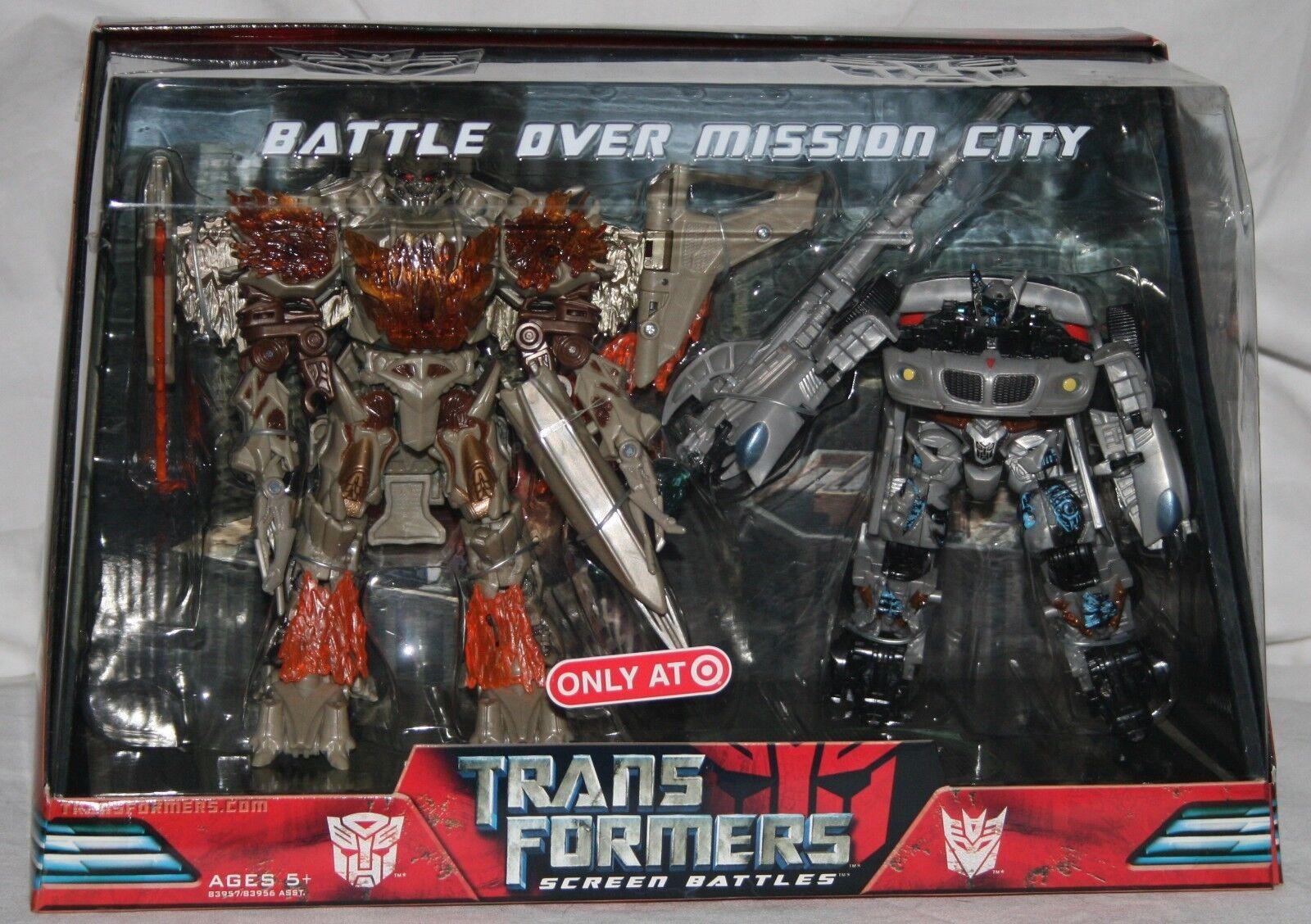 Transformers Película Pantalla batallas Batalla Sobre Ciudad de misión objetivo exclusivo Y En Caja Sellada