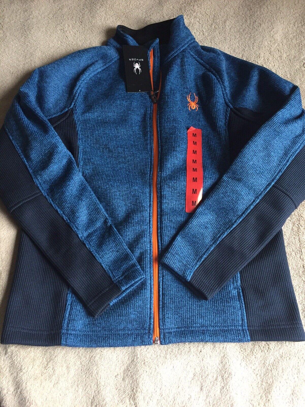 New Spyder Men's Constant Full Zip Sweater (402 FRO FRB. M)