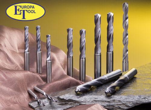 3mm Carbure Monobloc 2 Cannelé Mêche Perceuse 8003030300 Europa Tool