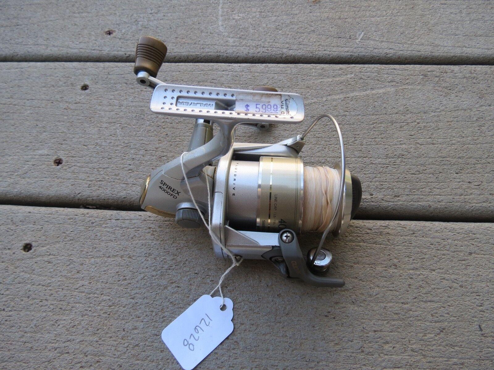 Shimano Sprirex 4000FD  with 4000 spool fishing reel (lot)