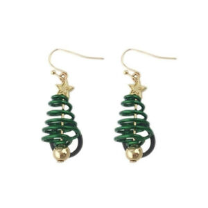 Christmas-Tree-Earrings-Dangle-Pendant-Jewelry-for-Festival-Party-Accessories-JA