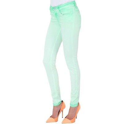 b844e863d0 Details about Jeans Salsa Colette Comfort Skinny Green Woman