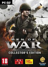 Men of War: Collector's Pack (PC DVD) BRAND NEW SEALED