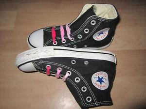 Details zu Converse All Star Chucks Sneaker Gr. 29 schwarz weiß 4 209