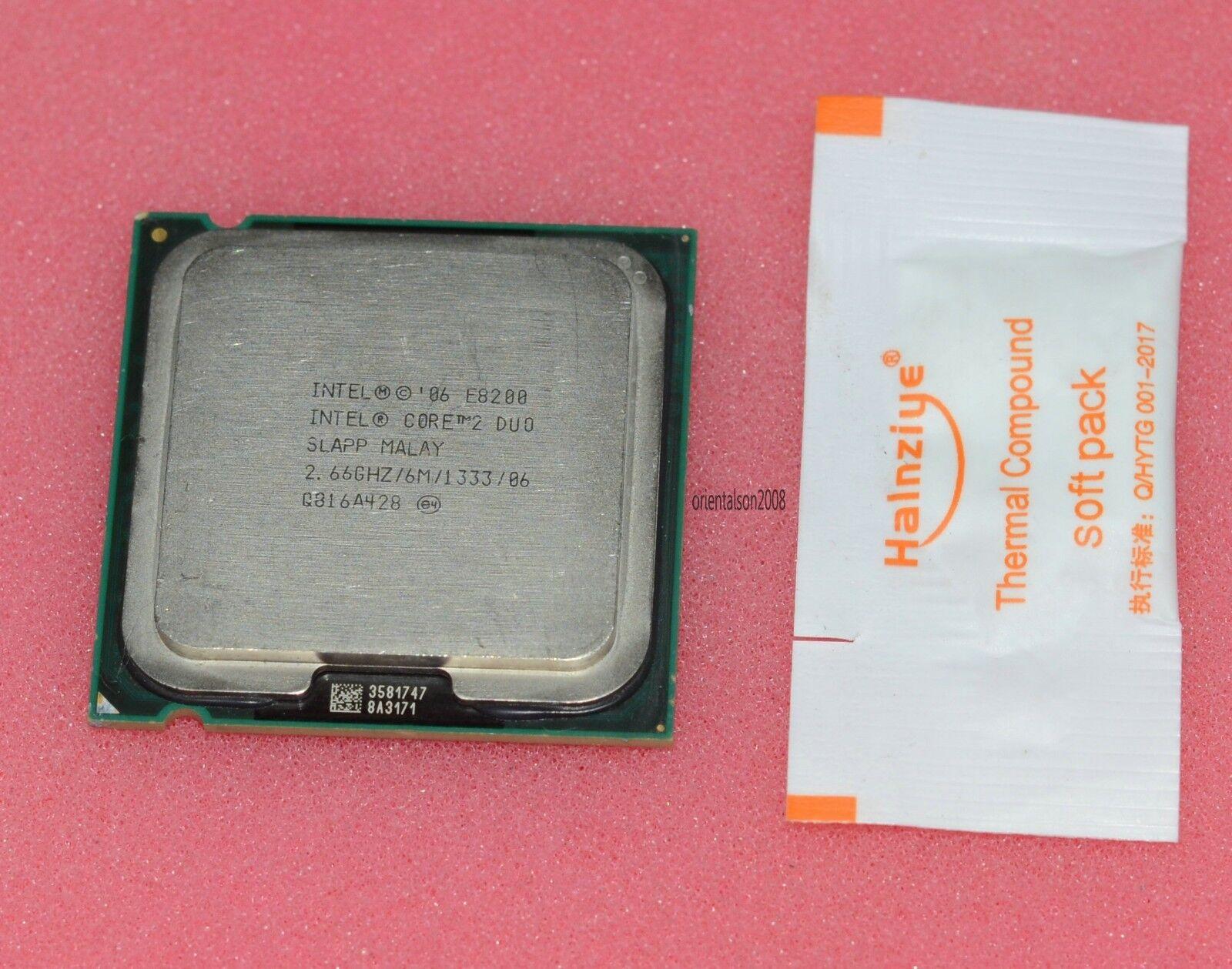 Admirable Intel Core 2 Duo E8200 2 66Ghz Dual Core Eu80570Pj0676M Processor Unemploymentrelief Wooden Chair Designs For Living Room Unemploymentrelieforg