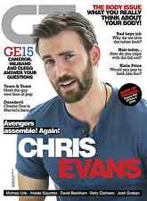 Gay Times (GT) Magazine, Chris Evans Captain America Charlie Cox Daredevil NEW