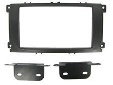 Ford Mondeo, Focus, S-Max Negro Doble Din Fascia Adaptador se conecta 2 CT23FD07 Nuevo