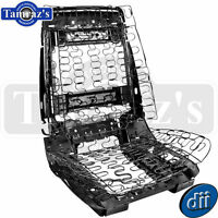 66-68 Gm A/b-body Front Bucket Seat Frame & Spring Assembly - Left