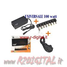 ALIMENTATORE UNIVERSALE 100W NOTEBOOK COMPAQ ACER ASUS DELL EEEPC TOSHIBA SONY