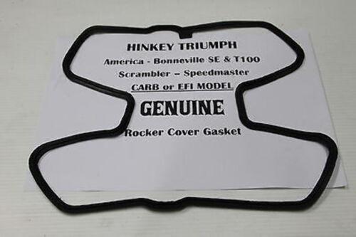 TRIUMPH THRUXTON ** ROCKER COVER GASKET Carbs /& EFI **