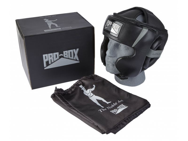 Pro Box Head Guard Signature Signature Signature Series Boxing Sparring Full Face Cheek Protection 7286b7