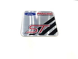 Ford Racing Performance Parts Emblem Badge Aluminum Sticker