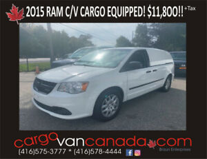 2012 RAM Cargo C/V Tradesmen