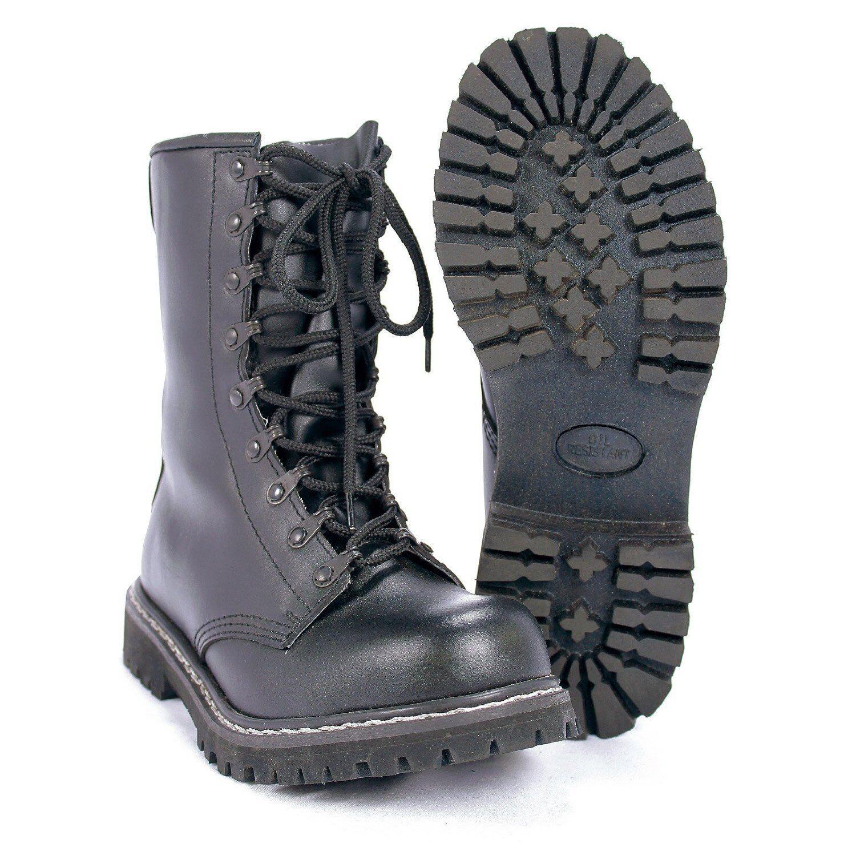 Mil-Tec - Combat boots 'PARA' with Steel toe cap, Combat Boots, Outdoor